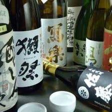 日本各地の地酒をご用意しております