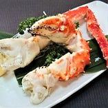 タラバ蟹・ボイル又は焼き