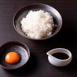 [卵かけご飯] 〆の定番『トリュフ醤油の悶絶TKG』は絶品!