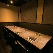 ◆2名様~個室完備◆