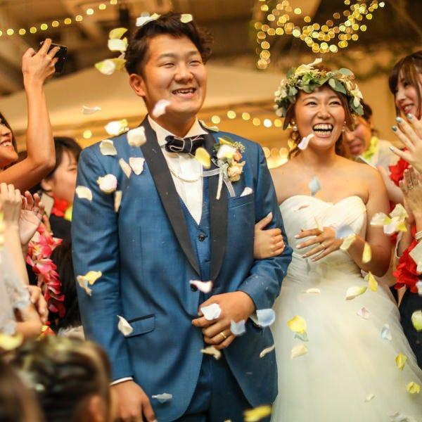 ★結婚式の二次会、1.5次会プラン30名~★11月までの実施で1名4,950円で開催可能♪