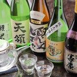 当店オリジナルの日本酒をはじめ地元や全国の銘酒を取り揃え