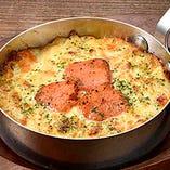 ほくほく明太ポテトチーズ焼き