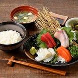 刺身(4種)定食
