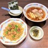 豚角煮炒飯・半ラーメンセット