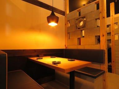 広島鉄板焼炭火焼 八黒(YAKURO)  店内の画像