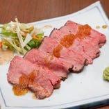 ヒレ肉ローストビーフ  「国産ヒレ肉使用 とても柔らかいです」