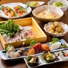 季節の料理で彩る宴を!