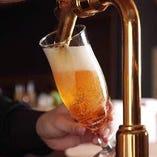 【特典:3】お一人様+500円でクラフトビール2種&サントリー角の、プレミアム飲み放題に変更可