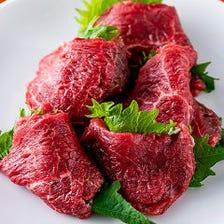 【2時間飲み放題付き】宴会におすすめ♪お酒と一緒に上質なお肉が楽しめる贅沢な『6,800円コース』
