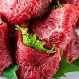 肉の旨味が感じられる「まるかわ」は、大葉との相性が抜群。