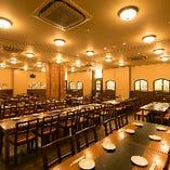 最大100名様まで!会社宴会、女子会、ご家族でお食事も個室でお過ごしください