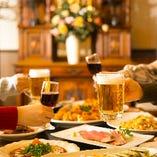 【個室宴会】 大小様々な個室完備★宴会プランもございます