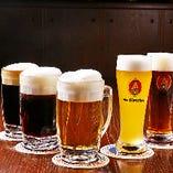 【生ビール】 大使館ビール、港神戸ヴァイツェンも楽しめます