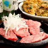お肉のちょい焼きやサクサク&もっちりのチヂミなど逸品も充実♪