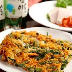 サクサク野菜チヂミ