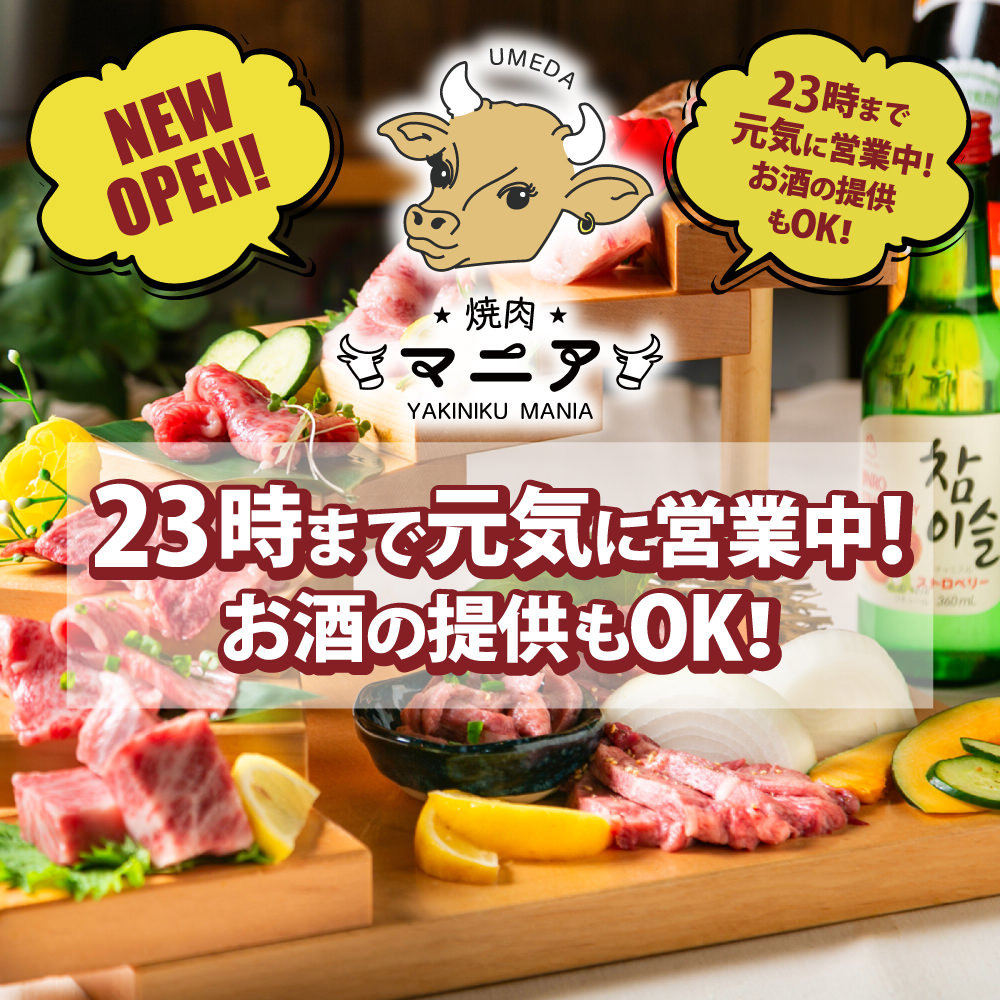 梅田焼肉 個室 食べ放題 焼肉マニア ウッシーニ 梅田店