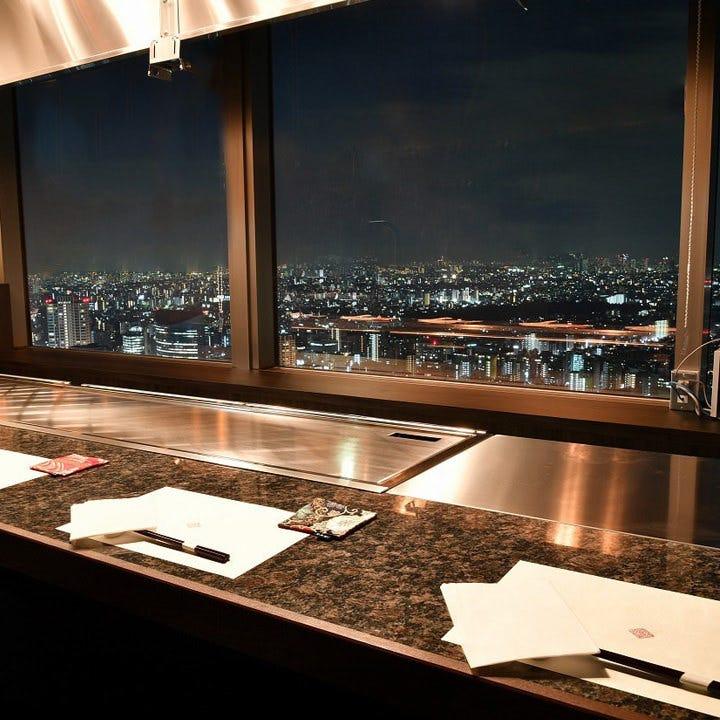 東京の夜景を一望できる美空間