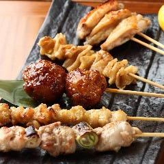 焼き鶏盛り合わせ(5串)