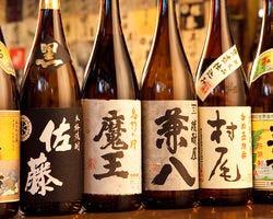 焼酎・日本酒にこだわる