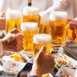 お一人様からOK!名物★札幌レモンサワーや生ビールも飲み放題!60分⇒980円(税込1078円)