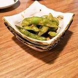 芥子漬けの枝豆