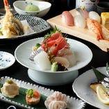 【ぐるなび限定上ちゃんコース!】上ちゃんの宴会と言えばこれ!新鮮なお魚と嬉しい飲み放題付きコース♪