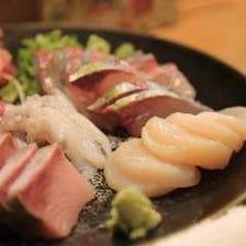 【2時間飲み放題】海鮮おまかせコース 5000円(税込)