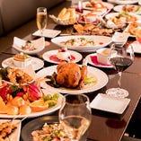 [大満足宴会ならTORIGE] フロア貸切は着席56名/立食60名様までOK
