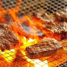 山形の食材を使った炉端料理