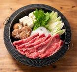 和牛のすき鍋