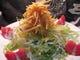 じゃが芋をパリパリに、産直新鮮野菜とご一緒に。