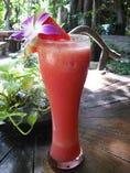 タイで人気のスイカのスムージー