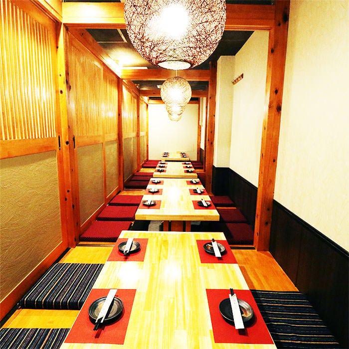ご宴会に最適な個室を多数ご用意!