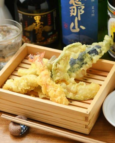 天ぷらスタンド KITSUNE 今池店 メニューの画像