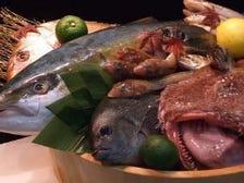 生け簀完備!!鮮度抜群のお魚