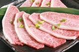 特選ミスジカルビ きめ細やかな最上級霜降り肉!