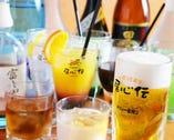 生ビールも焼酎も梅酒も み~んな280円(税抜)。