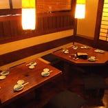 テーブル席【コロナ対策中】2名様から予約OK!