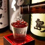 【たつみやと言えば和酒!】美味しい料理に欠かせないのがお酒。当店では良く目にする定番から銘酒と呼ばれる希少なものまで豊富な種類の地酒をご用意しています!