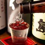 【+880円で飲み放題グレードUP】 地酒&焼酎約20種・ワイン・銘柄梅酒が追加に!