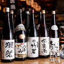 日本全国の地酒やワインなどを堪能!