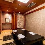【3〜6名様】掘りごたつ個室「浜菊(はまぎく)」 接待や結納など大切なご宴会に