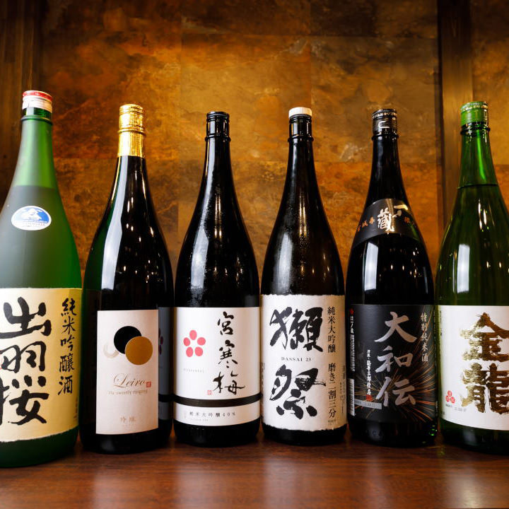 種類豊富な日本酒で東北に酔う