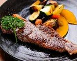 【4】お肉の鉄板焼き