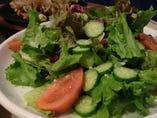 たっぷりグリーンサラダ