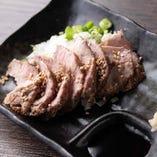 新鮮な肉だからこそ味わえる『はらみのたたき』