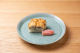 鱧の葛叩きと水無月豆腐 つる菜、梅肉、清汁仕立て(イメージ)