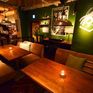 #802 CAFE&DINER 渋谷店 店内の画像
