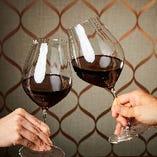 ワインで乾杯!